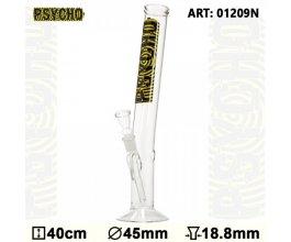 Skleněný bong Psycho Hangover, výška 40 cm, průměr 45 cm