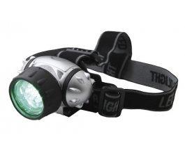 Elektrox Green LED Headlight - čelovka zelená LED