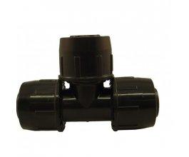 Téčko - T 25mm PE - pro tlak 1 atm