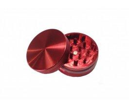 Drtička malá, kovová, magnetická 50mm, červená