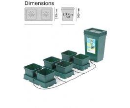 Autopot Easy2grow Kit s 6 květináči, včetně 47L plastové nádrže