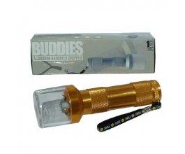 Elektrická drtička BUDDY METAL FLASHLIGHT, zlatá