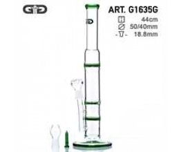 Skleněný bong Grace Glass Cane zelený, 44cm
