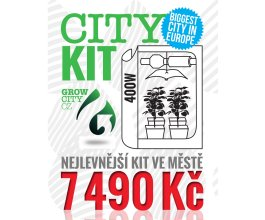 GrowCity Kit, kompletní sestava na pěstování rostlin na 1m2