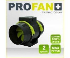 PROFAN TT Extractor Fan 150mm - 405/520m3, 2 rychlosti