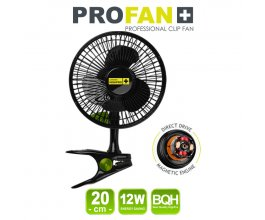 Klipsnový ventilátor PROFAN 12W, průměr 20cm - DOČASNĚ VYPRODÁNO!