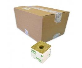 GRODAN pěstební kostka malá, 75x75x65mm, s malou dírou, box 384ks