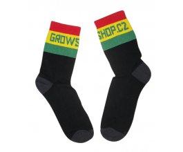 Growshop ponožky, černé, vel. 10-11