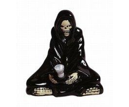 Keramický bong Smrtka meditující 15cm
