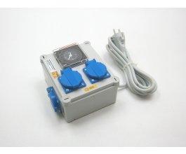 Malapa rozvaděč 2+1, 2x600W, 230V