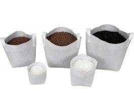 Tex Pot textilní květináč bílý 15l