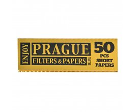 Krátké papírky PRAGUE PAPERS de luxe GOLD, 50ks v balení