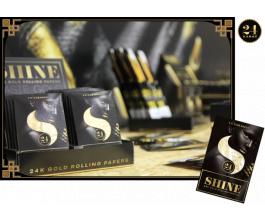 Shine 24K One Sheet Pack, 1 zlatý papírek+ filtr Rolls 69