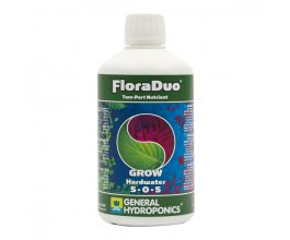 General Hydroponics FloraDuo Grow pro tvrdou vodu, 500ml