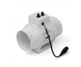 Ventilátor s termostatem TT 125 U, 220/280m3/h