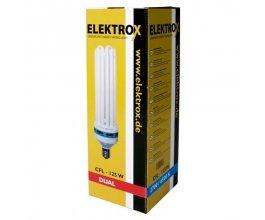 Úsporná lampa ELEKTROX 125 W, kombinované spektrum, s integrovaným předřadníkem