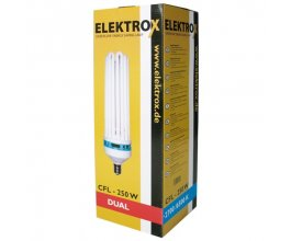 Úsporná lampa ELEKTROX 250 W, kombinované spektrum, s integrovaným předřadníkem
