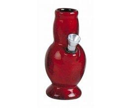 Keramický bong Váza 13cm červená