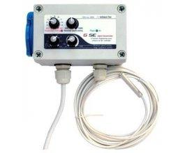 GSE Digitalní regulátor teploty, min&max rychlosti ventilatoru a hystereze