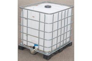 Velkokapacitní plastový kontejner na vodu, 1000L