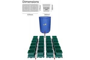 Autopot Easy2grow Kit se 24 květináči, včetně 225L Flexitank