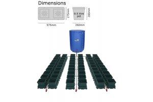 Autopot Easy2grow Kit se 60 květináči, včetně 400L Flexitank