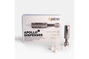 APOLLO Dispenser 5ml, kovový dávkovač s plastovou špičkou