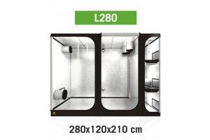 Dark Room Lodge L280 R2.6, 280x120x210cm