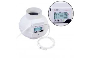 Ventilátor GSE EC 125, 950m3/h