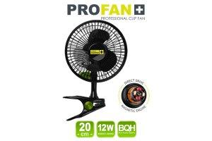 Garden High PRO - Klipsnový ventilátor PROFAN 12W, průměr 20cm- DOČASNĚ VYPRODÁNO!