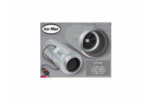 Odhlučněný ventilátor Iso-Max 160mm/430m3/h, 3 rychlosti