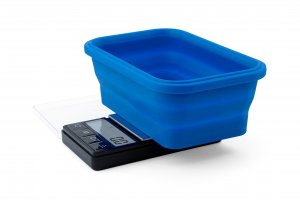 Váha On Balance Blue Collapsible Silicone Bowl Scale 1000g/0,1g