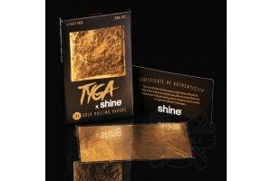 Shine 24K 6 Sheet TYGA Pack -6x King size zlatý papírek