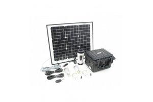 Malapa  solární systém s akumulátorem, 230V+12V