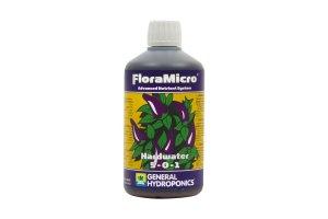 General Hydroponics FloraMicro pro tvrdou vodu, 500ml