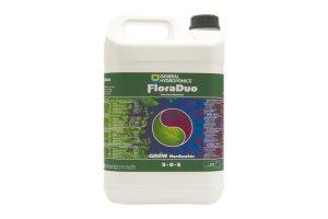 General Hydroponics FloraDuo Grow pro tvrdou vodu, 5L
