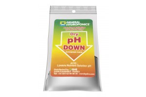 General Hydroponics pH down práškové 25g