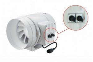 Ventilátor s termostatem TT 200 PRO U, 830/1040m3/h