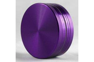 Drtička malá, kovová, magnetická 50mm, fialová