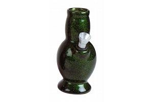Keramický bong Váza 13cm zelená