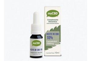 myCBD 10% CBD olej, 10ml